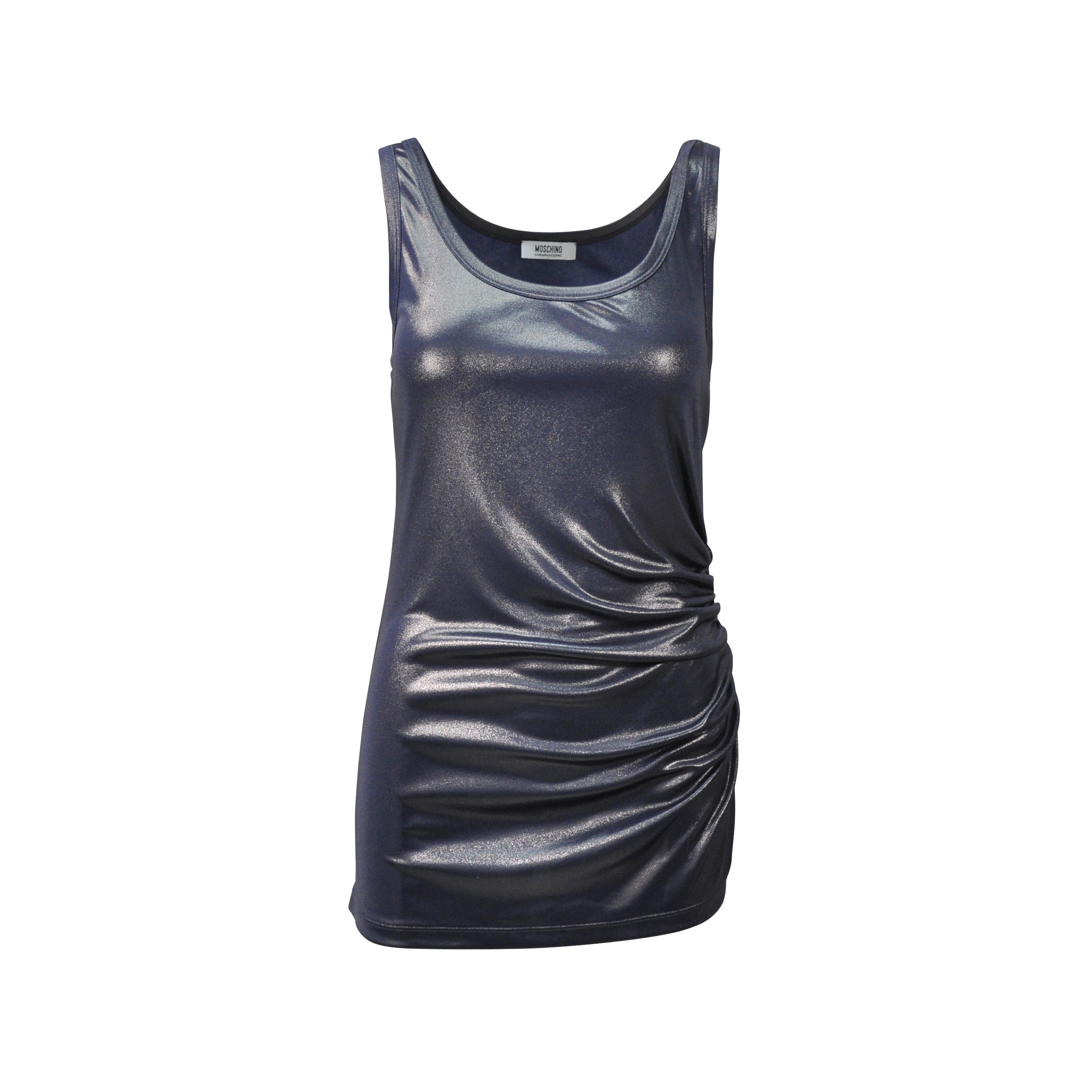 ad837d1ae5ab Authentic Second Hand Moschino Metallic Dress (PSS-200-00428) - THE FIFTH  COLLECTION