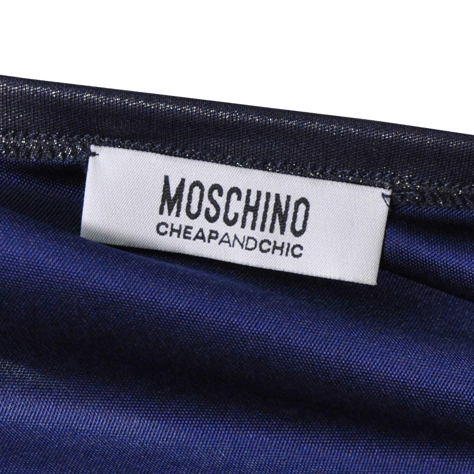 c623e7a09e68 ... 1 Authentic Second Hand Moschino Metallic Dress (PSS-200-00428) -  Thumbnail 2