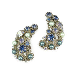 Elsa schiaparelli crescent earrings 5
