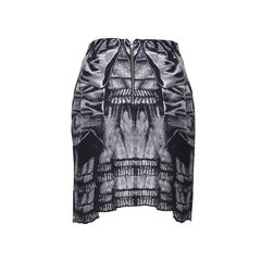 Curated graphic print skirt 2