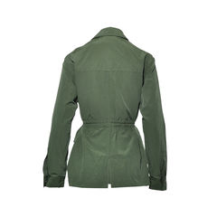 Elizabeth and james army green nikki shirt jacket 2