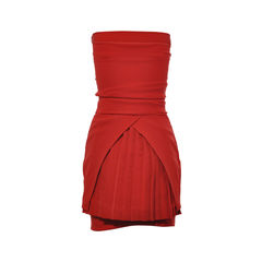 Preen by thornton bregazzi pleated back dress 2