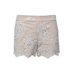 Sequinned Lace Shorts