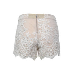 Alice olivia sequinned lace shorts 2