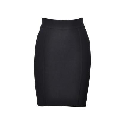Authentic Second Hand Hervé Leger Parallel Bandage Pencil Skirt  (PSS-193-00077)