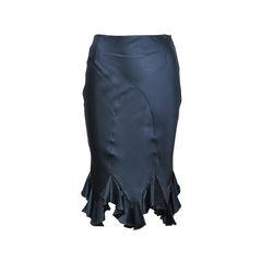 Silk Trumpet Skirt
