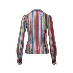 Chloe sequins stripes shirt 2