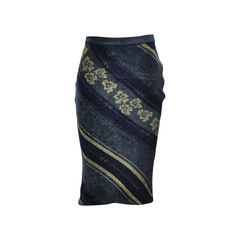 Flower Motif Skirt