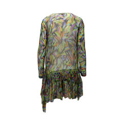 Dries van noten brushstroke print dress 2