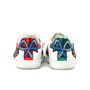 Gucci Embellished Leather Sneakers - Thumbnail 4