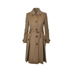 Wool and Cashmere Felt Coat