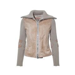 Dyed Calf Fur Jacket