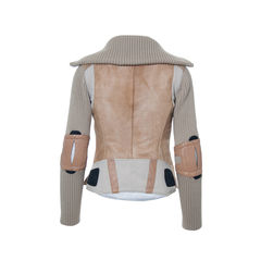 Prada dyed calf fur jacket 2
