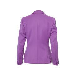 Versace giani versace purple blazer 2