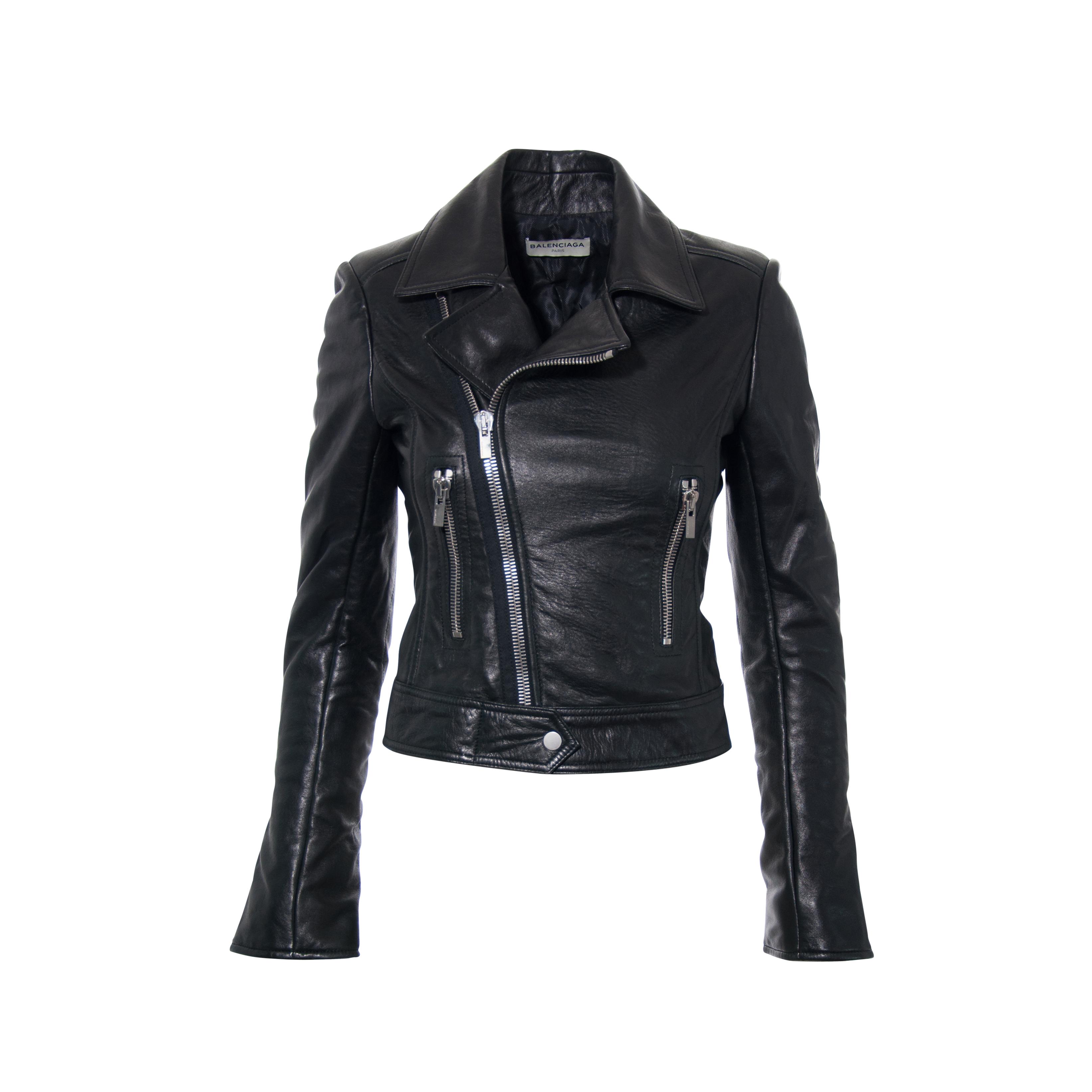 e0b2edb687ac Authentic Second Hand Balenciaga Biker Jacket (PSS-265-00123)