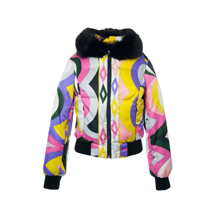 Authentic Second Hand Emilio Pucci Fur Trimmed Ski Jacket (PSS-265-00084)