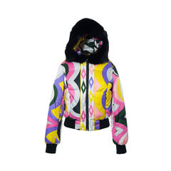 Emilio pucci jacket with fur trimmed hoodie 3