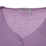 Authentic Second Hand Christian Dior Lilac Knit Cardigan (PSS-265-00032) - Thumbnail 2