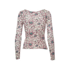 Marni flowers printed cotton top 2