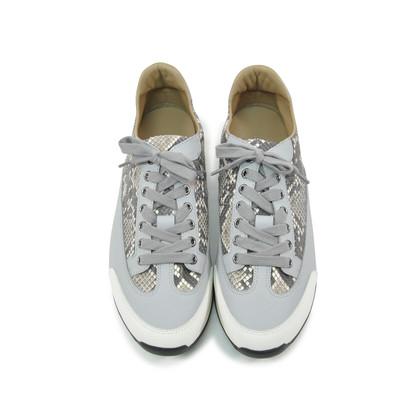 Hermes Python Goal Sneakers