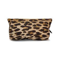 Lanvin ed fur hide leopard print clutch 2