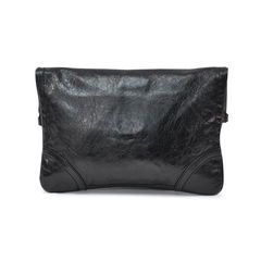 Alexander mcqueen leather turnlock flap clutch 2