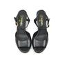 Chanel Calfskin Pearl Wedge Sandals - Thumbnail 0