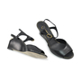 Chanel Calfskin Pearl Wedge Sandals - Thumbnail 2
