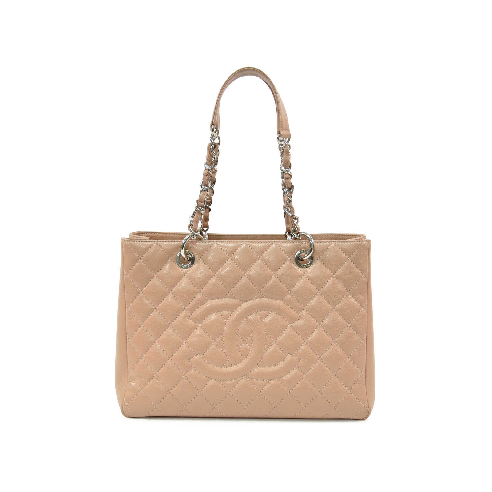 128e1253f2374 Authentic Second Hand Chanel Grand Shopping Tote (PSS-328-00002) -  Thumbnail ...