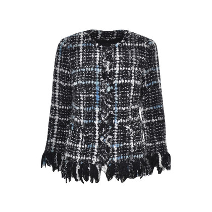 Chanel Frayed Woven Jacket