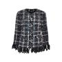 Chanel Frayed Woven Jacket - Thumbnail 0