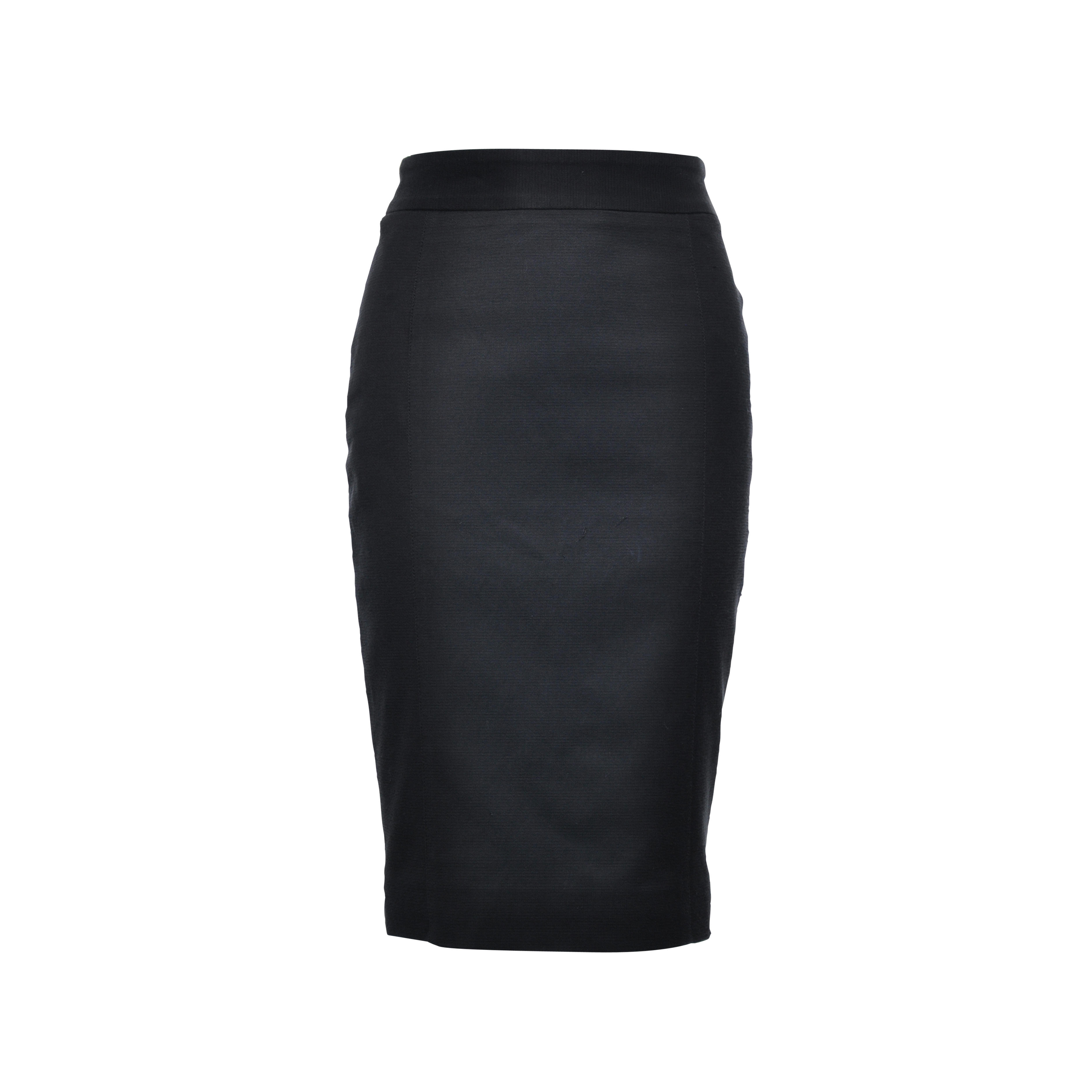 843c55941d84 Authentic Second Hand Dolce   Gabbana Black Pencil Skirt (PSS-141-00021)
