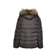 Moncler furry hood parka 2
