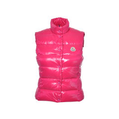 Pink Classic Padded Gilet