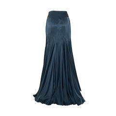 Chloe ruffled silk maxi skirt 2