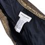 Authentic Second Hand Dries Van Noten Pleated Gold Metallic Skirt (PSS-265-00081) - Thumbnail 2