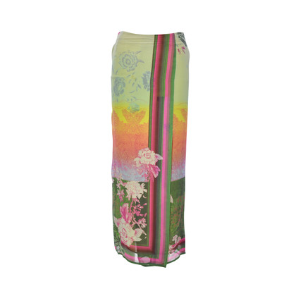Authentic Second Hand Etro Printed Silk Maxi Skirt (PSS-265-00034)