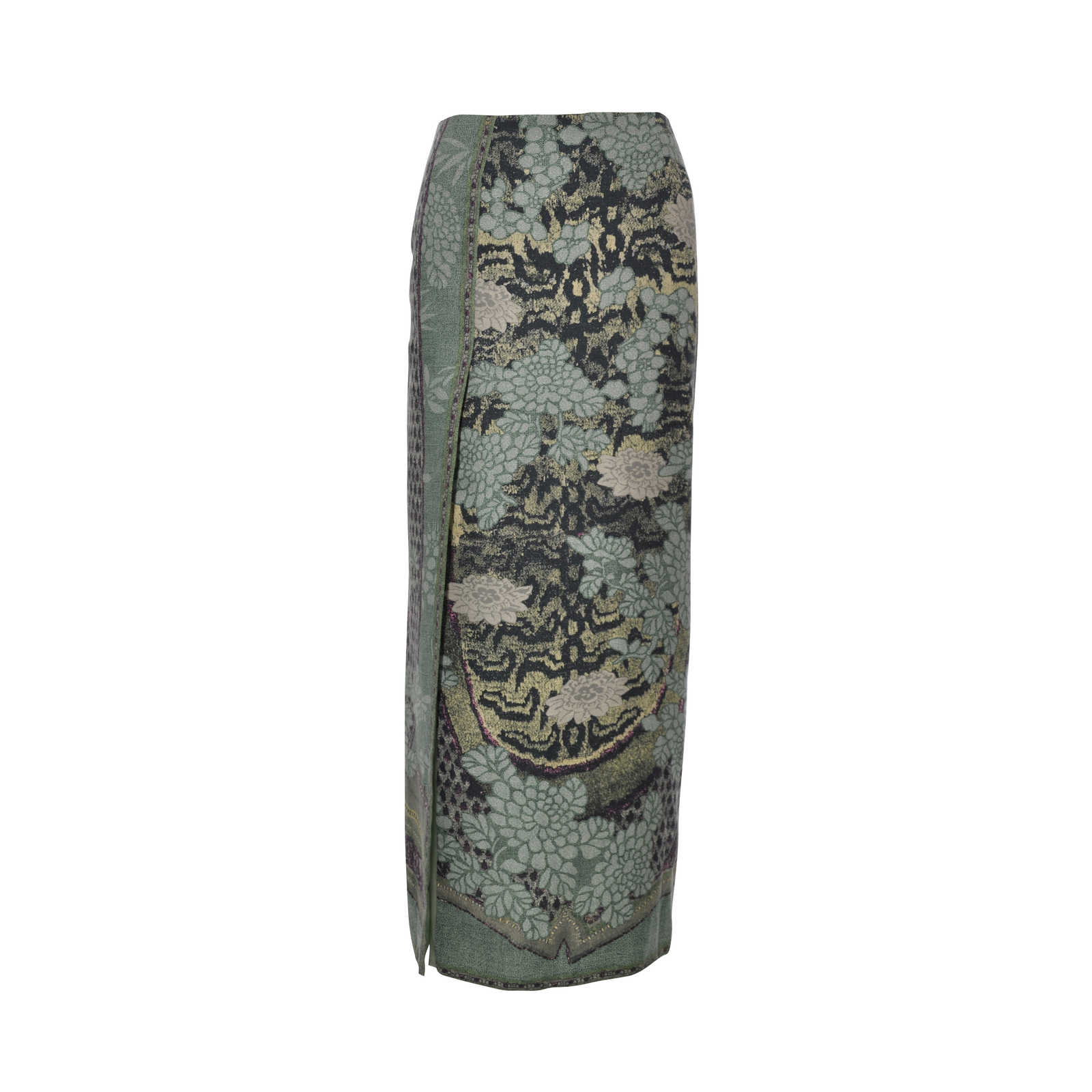 dbab7eff9c Authentic Second Hand Etro Floral Print Skirt (PSS-265-00036) - Thumbnail  ...