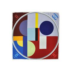 Coloured Blocks Printed Scarf