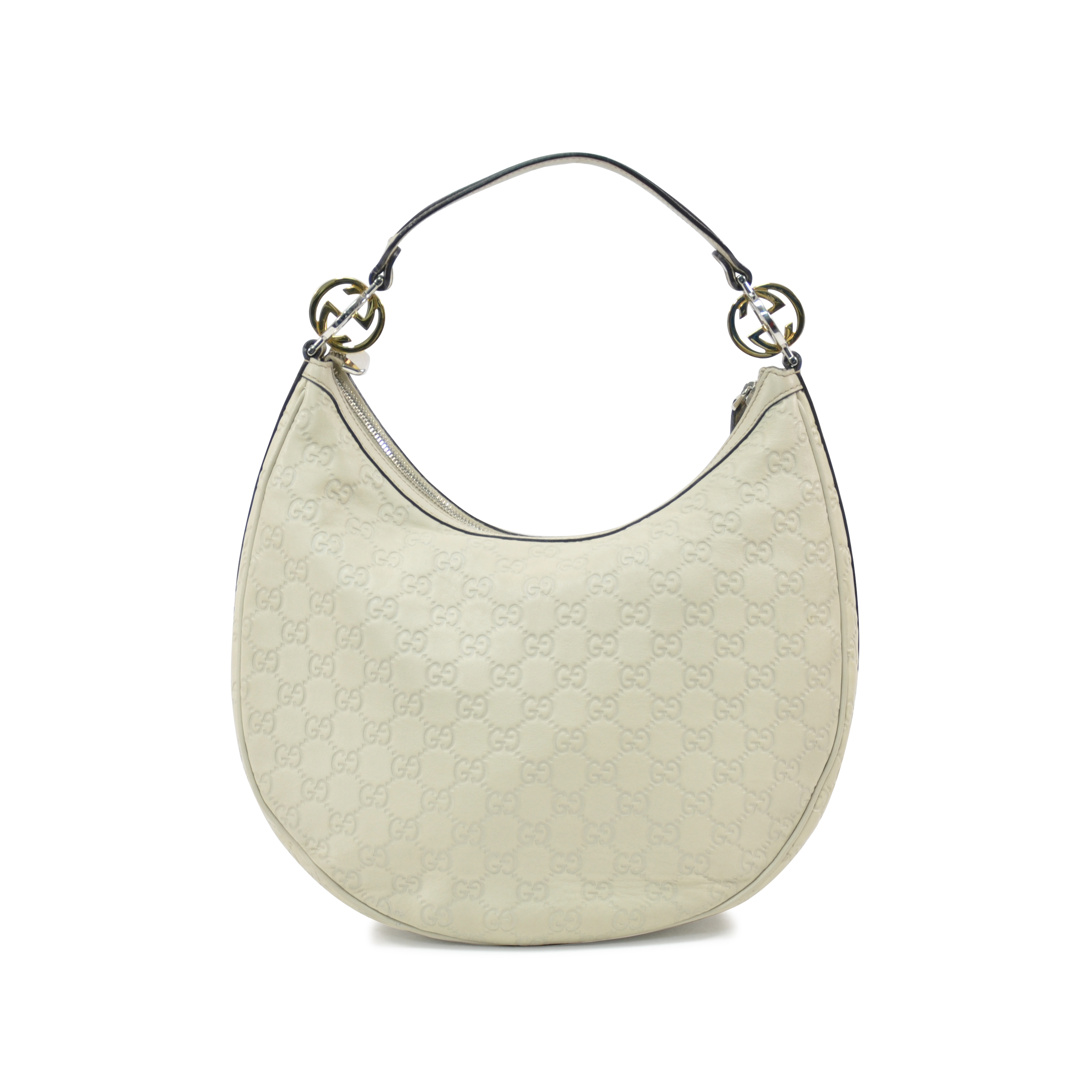 90148b73d4e7 Authentic Second Hand Gucci Guccissima Leather Hobo Bag (PSS-317-00001) |  THE FIFTH COLLECTION