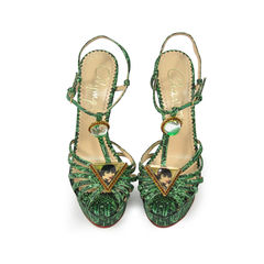 Emerald Deco Leading Lady Sandals
