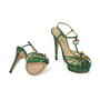 Charlotte Olympia Emerald Deco Leading Lady Sandals - Thumbnail 2