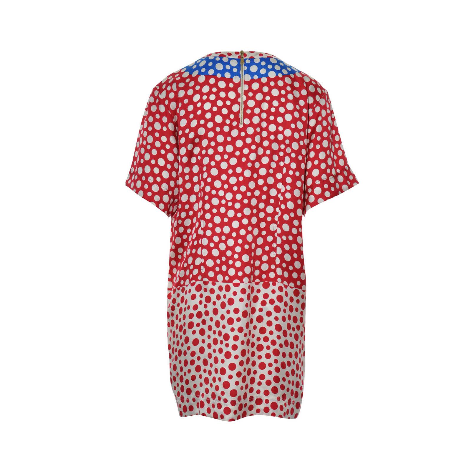 0411ab44575e5 ... Authentic Second Hand Louis Vuitton Yayoi Kusama Polka Dot Dress  (PSS-326-00033 ...