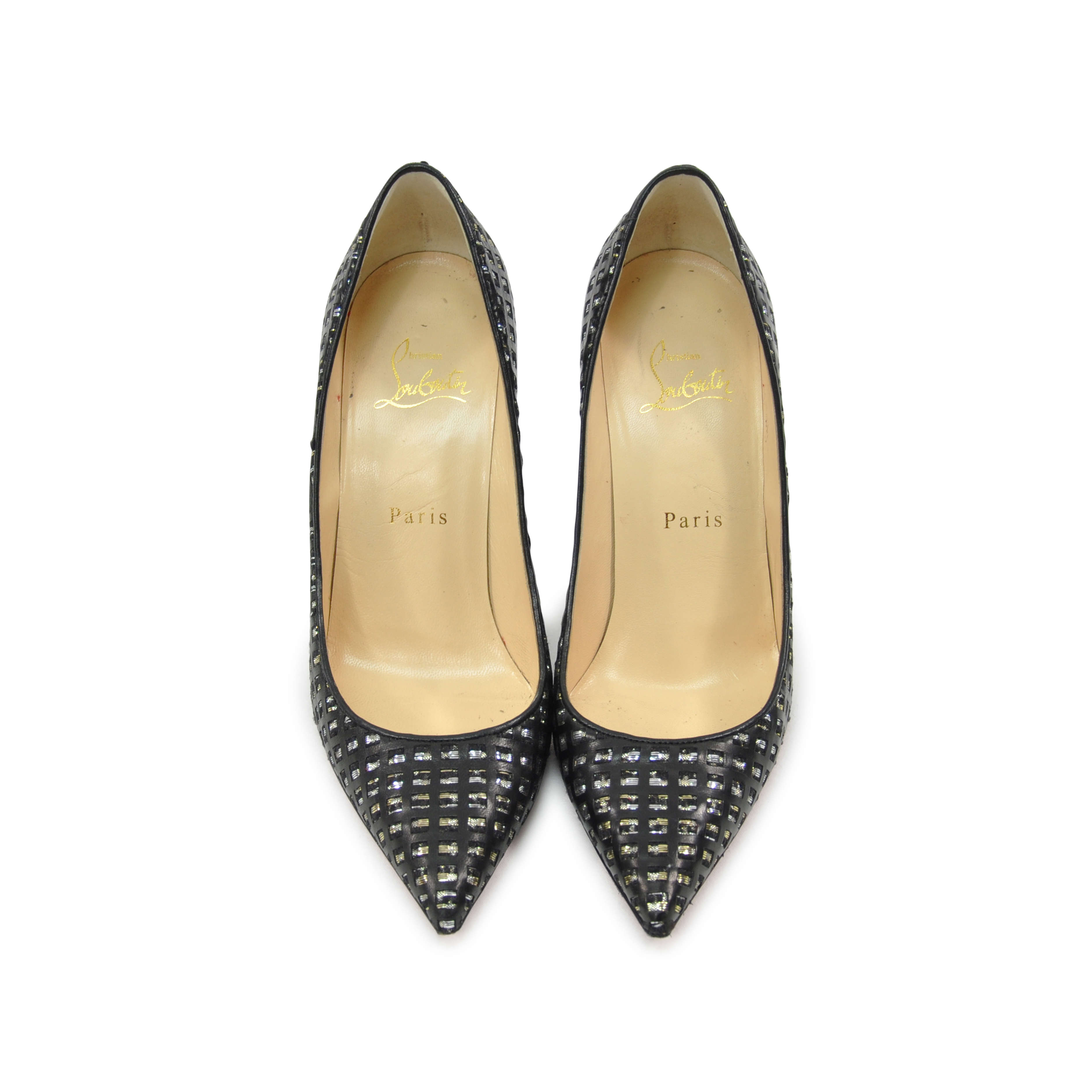 2babd4cab7d Authentic Second Hand Christian Louboutin So Kate Woven Pumps  (PSS-328-00006)