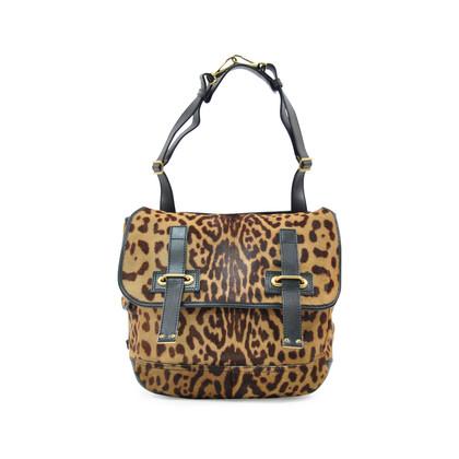 Authentic Second Hand Yves Saint Laurent Leopard Besace