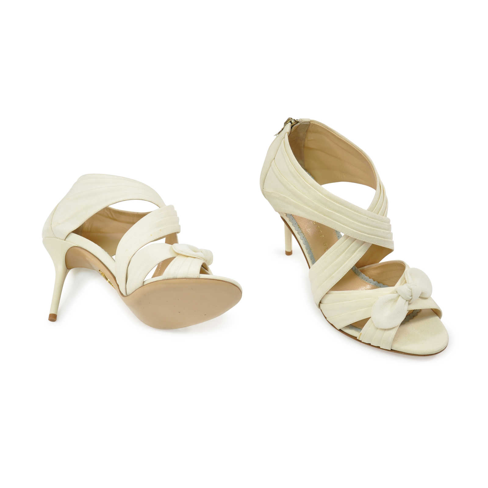 2d31fe2d9a70 ... Authentic Second Hand Charlotte Olympia Patricia Sandals (PSS-328-00010)  - Thumbnail ...