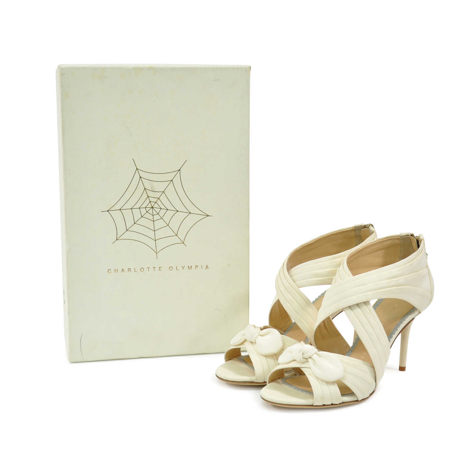 31cae5cf4952 ... Authentic Second Hand Charlotte Olympia Patricia Sandals (PSS-328-00010)  - Thumbnail