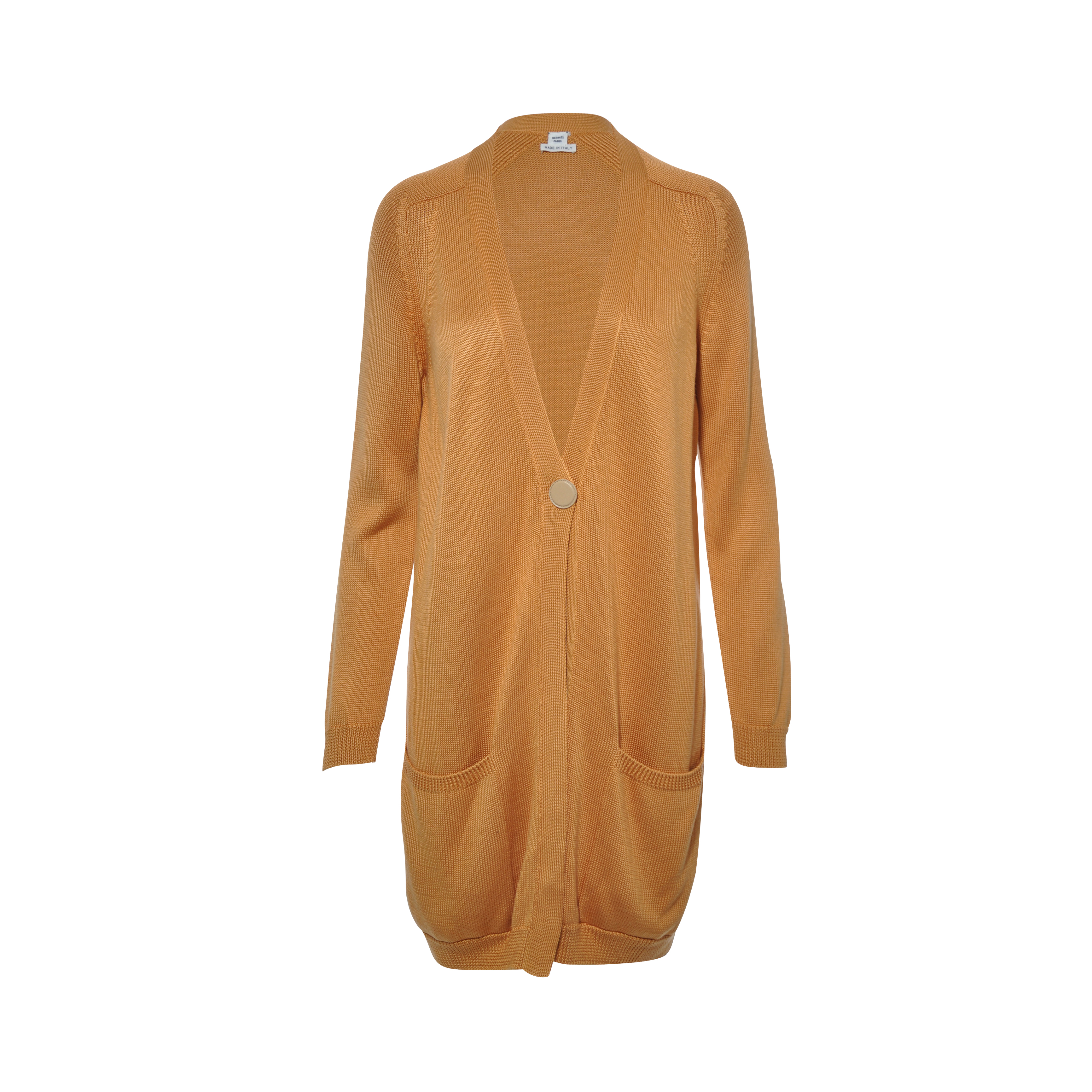 e37435acd273 Authentic Second Hand Hermès Long Cardigan (PSS-051-00143)
