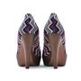 Authentic Second Hand Missoni Pattern Peep Toe Pumps (PSS-200-00740) - Thumbnail 2