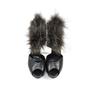 Hermes Fox Fur Trim Sandals - Thumbnail 0